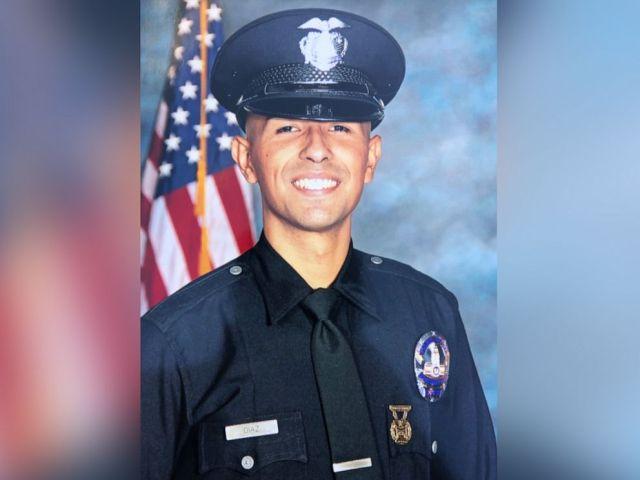 PHOTO: Police Officer Juan Diaz.
