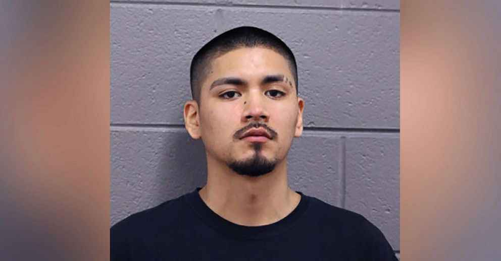 PHOTO: Ruben Roman, 21, arrested the night Adam Toledo was shot by police in Chicago, in a police mugshot.
