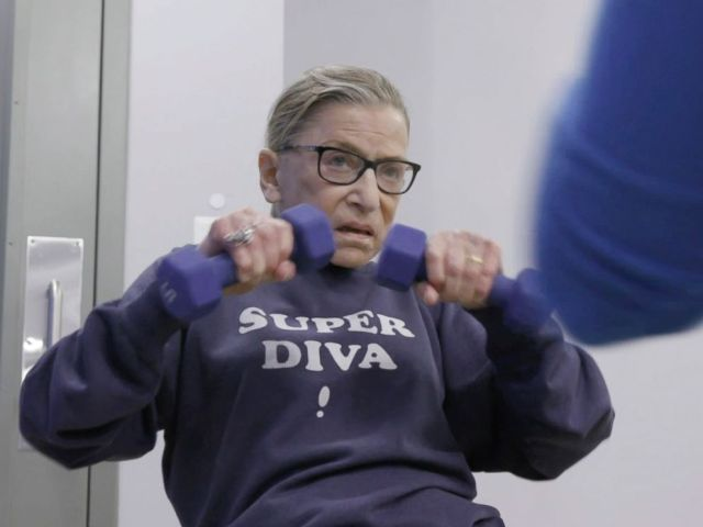 PHOTO: This image released by Magnolia Pictures shows U.S. Supreme Court justice Ruth Bader Ginsburg in a scene from RBG.