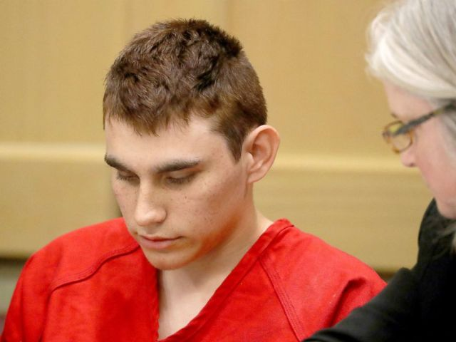 PHOTO: Nikolas Cruz appears in court for a status hearing before Broward Circuit Judge Elizabeth Scherer in Fort Lauderdale, Fla., Monday, Feb. 19, 2018.