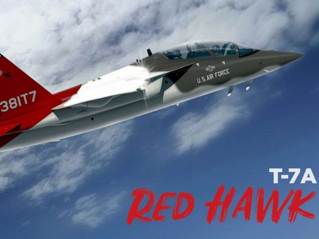 PHOTO: The Air Forces all-new advanced trainer aircraft has been named the T-7A Red Hawk in honor of the legendary Tuskegee airmen.
