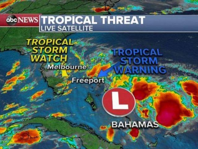 PHOTO: Tropical threat may grow.
