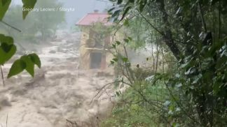WATCH: Floods turn deadly at French-Italian border