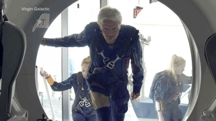 What to know about Richard Branson's spaceflight, as billionaires race to  the cosmos - ABC News
