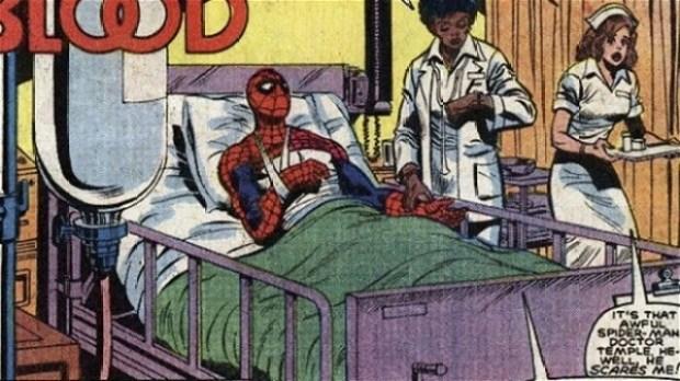 claire homem-aranha