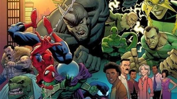Sony Marvel Personagens