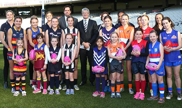 The AFL Women's League. Source: AFL.