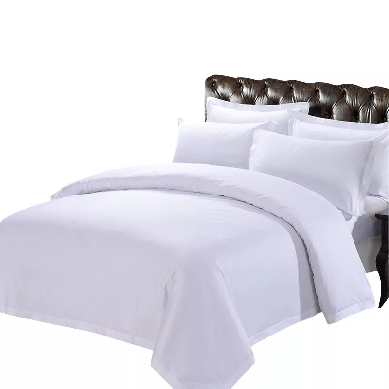 grossiste parure de lit carre blanc