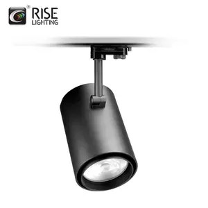 high output battery powered gallery cob led track light
