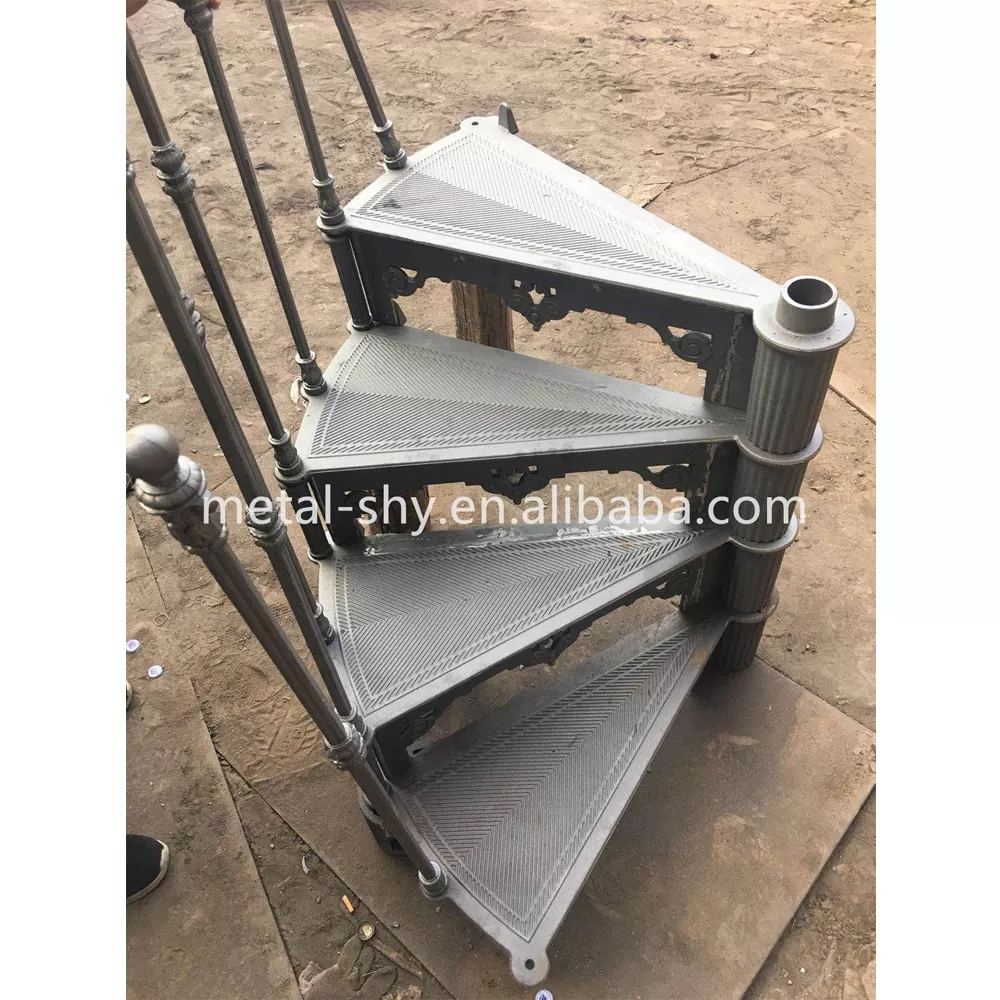 Hot Sale Cast Iron Spiral Stair Parts Used Spiral Staircase   Cast Iron Spiral Staircase For Sale   Second Hand   Used   Portable   Modular   Rod Iron