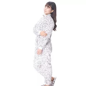 women onesie pajamas with drop seat