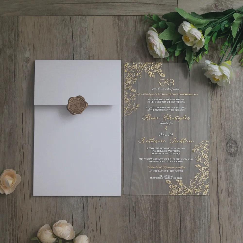 china glass wedding invitations china