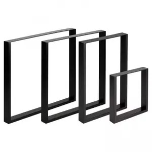 custom metal dining table legs rectangle table legs for coffee tables office tables