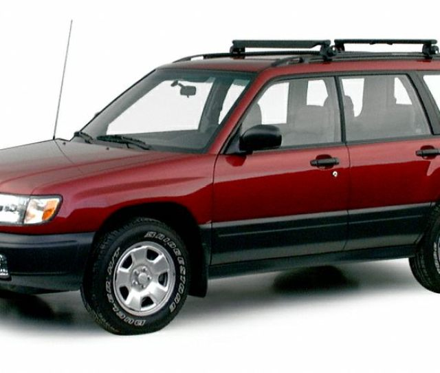 2000 Subaru Forester Exterior Photo