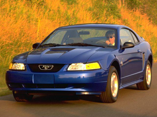 Blue 2000 Mustang Gt Convertible