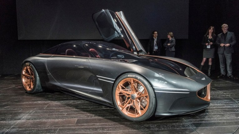Genesis Essentia concept not yet headed to production  but here s     slide 7289489