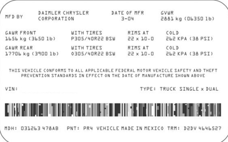 Know Your Car Registration Number