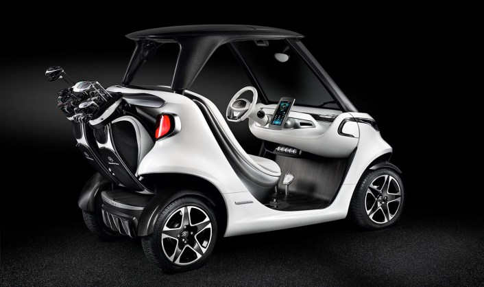 Buying Mercedes Benz Golf Cart