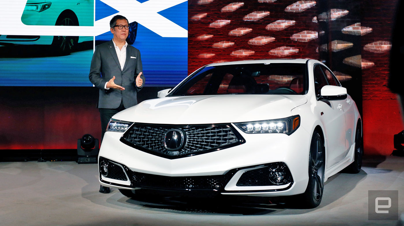 With Its 2018 TLX Acura Learns The Value Of Good Software