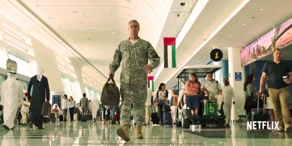 Brad Pitt in de Netflix-film War Machine