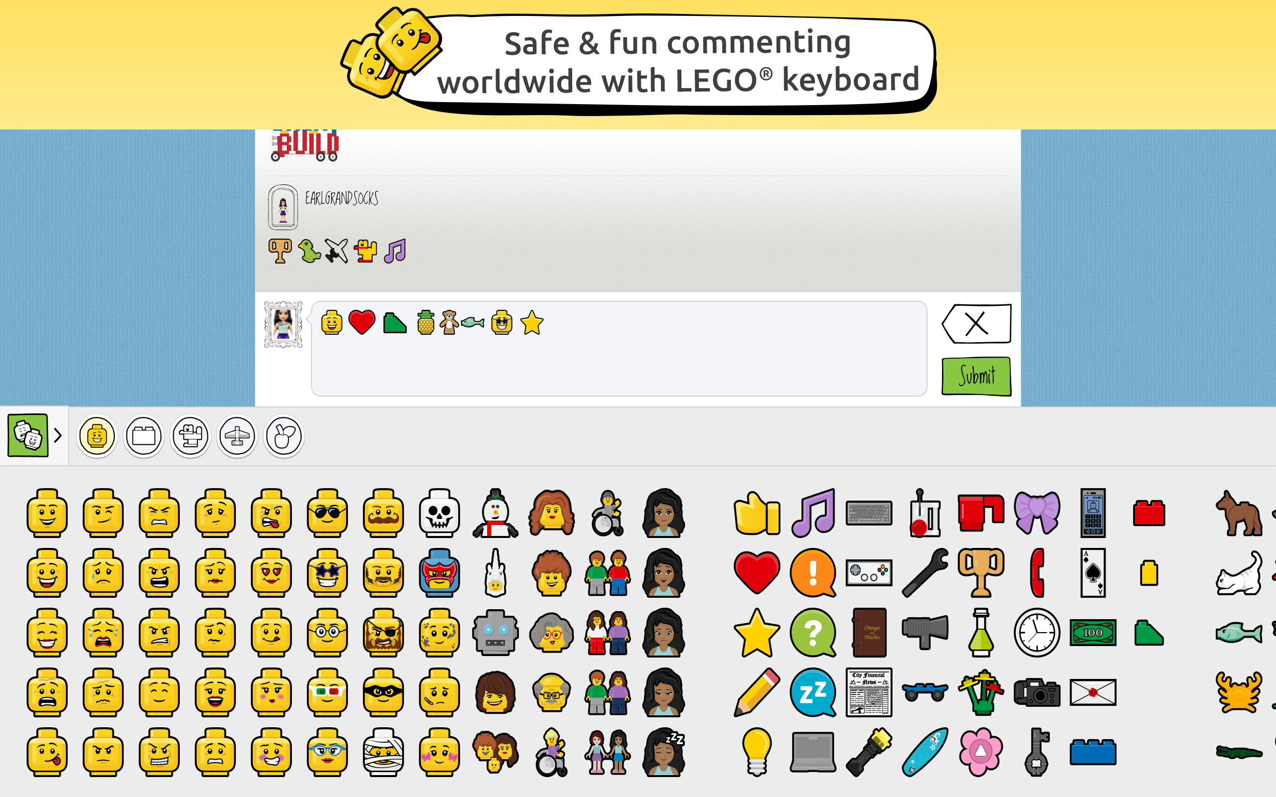 Lego Launches A Safe Social Network For Kids To Share