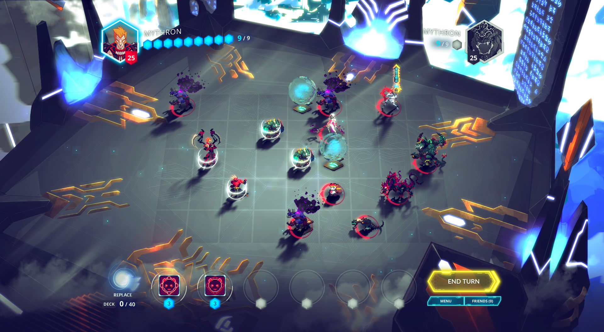 Gorgeous Competitive Tactics Game Duelyst Is Out Today