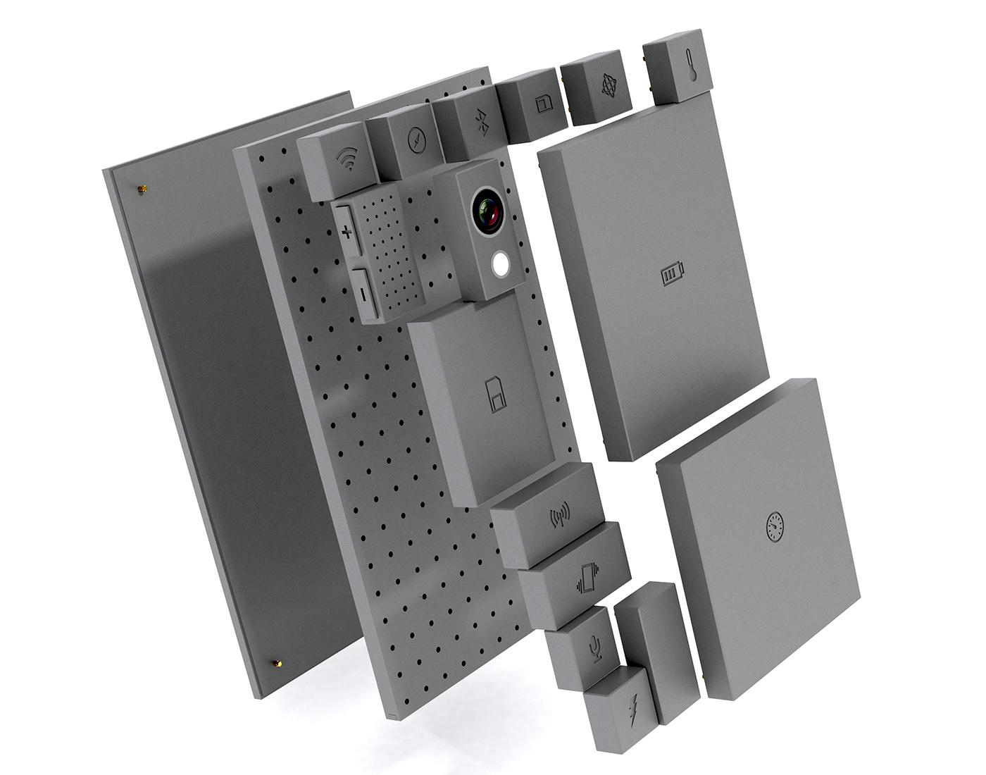 PhoneBloks modular reparable cell phone
