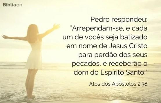 Atos doa Apóstolos 2:38