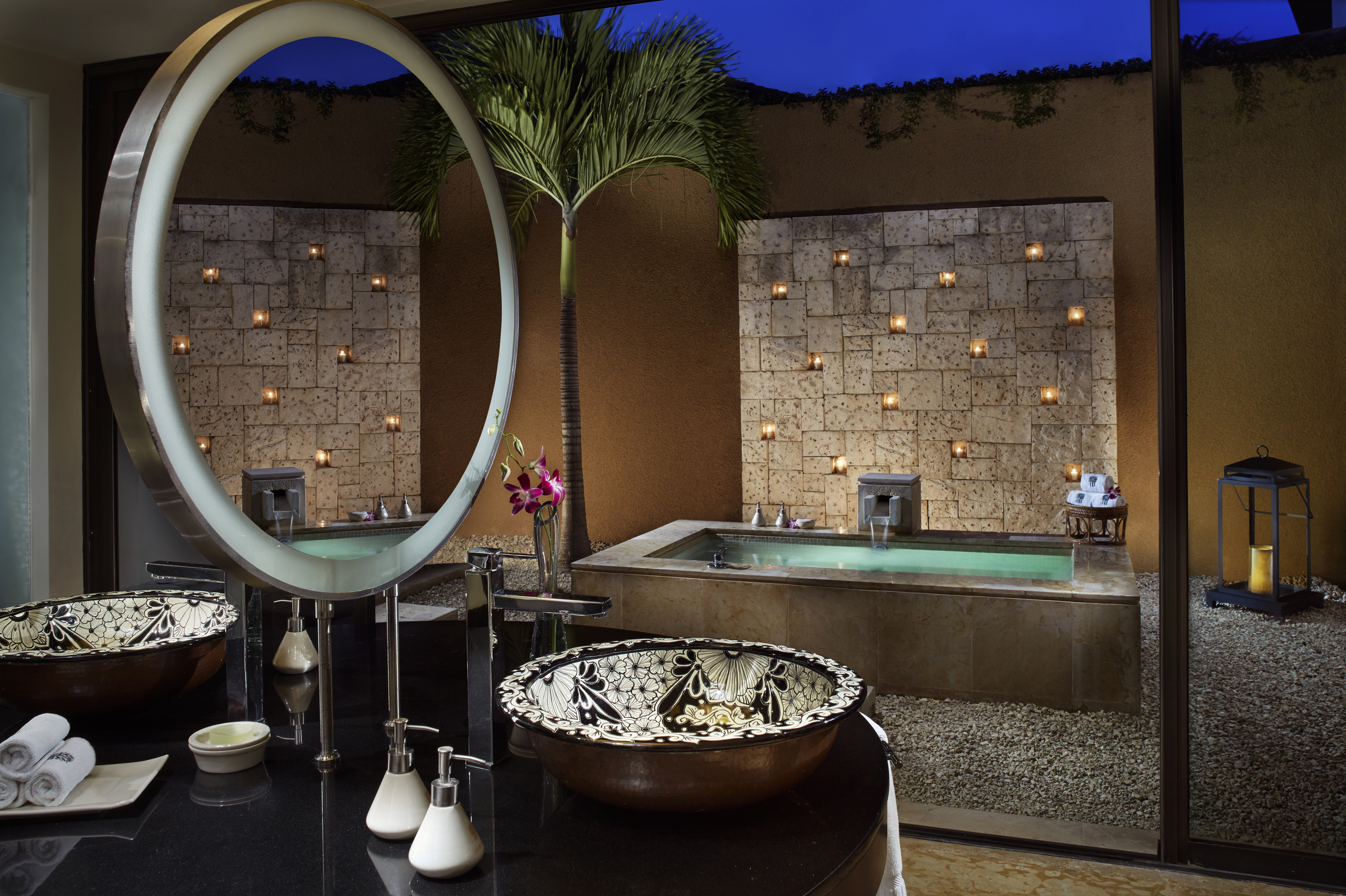 World's Most Over-the-top Hotel Bathrooms