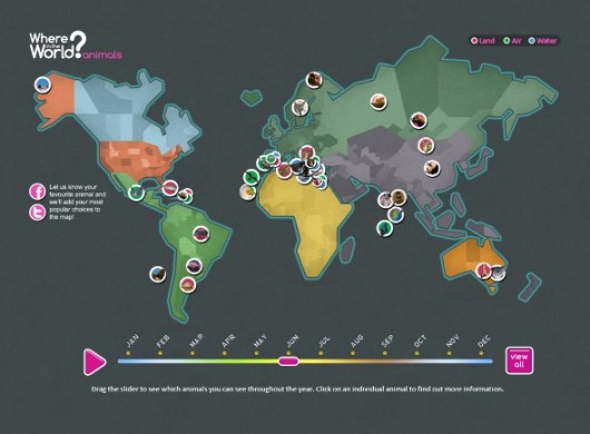 Interactive World Map For Young Explorers