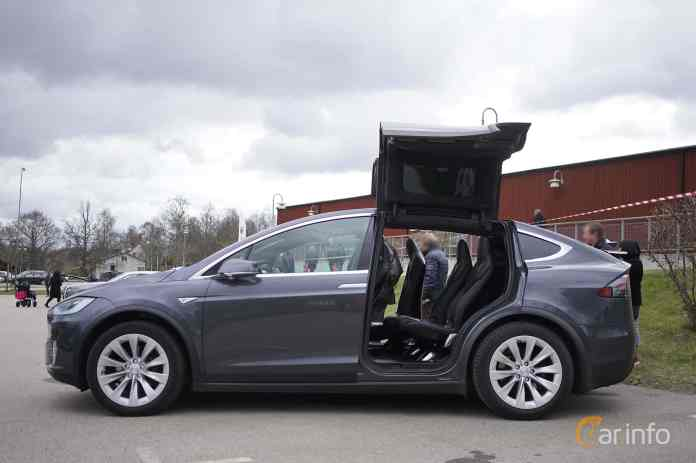 Tesla Model X P100d Ludicrous Single Speed 630ps 2016 2021