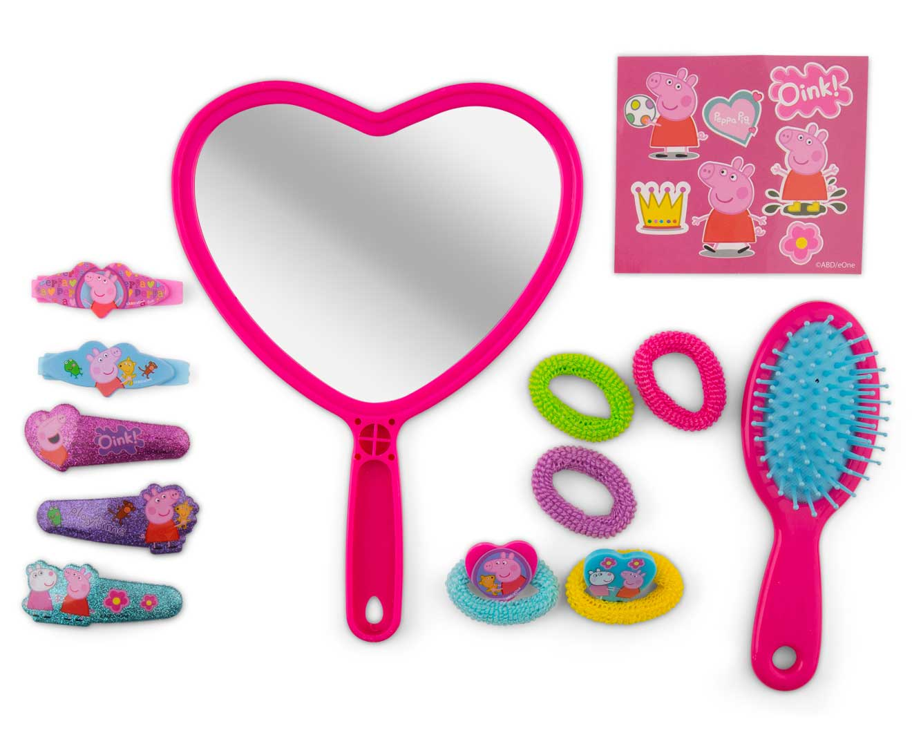 Peppa Pig 13 Piece Hair Accessory Set Scoopon Shopping