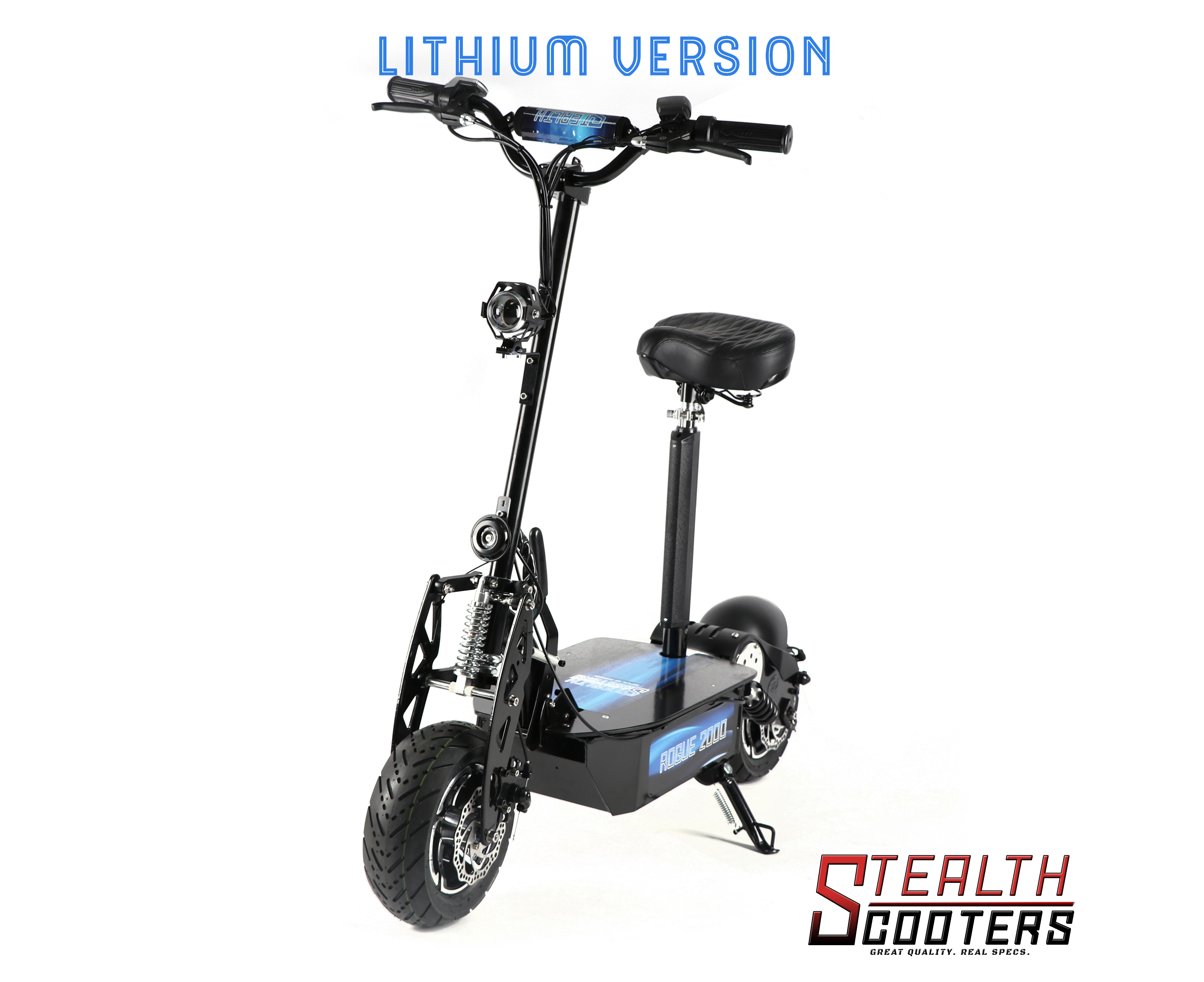 Stealth Scooters Rogue W 60v 12ah Lithium Electric Scooter