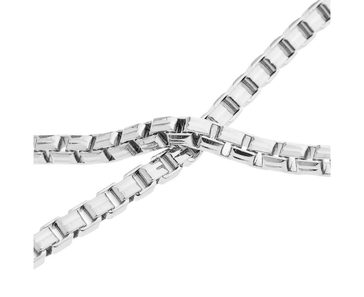 Iced Out Bling Square Box Chain
