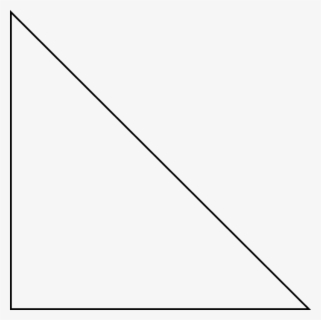 transparent white triangle png right