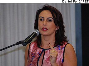 Mary Elbe Queiroz, presidente do IPET - 15/05/2012 [Daniel Feijó/IPET]