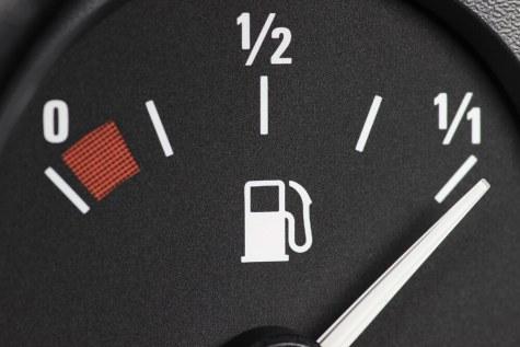 Image result for overfull fuel gauge