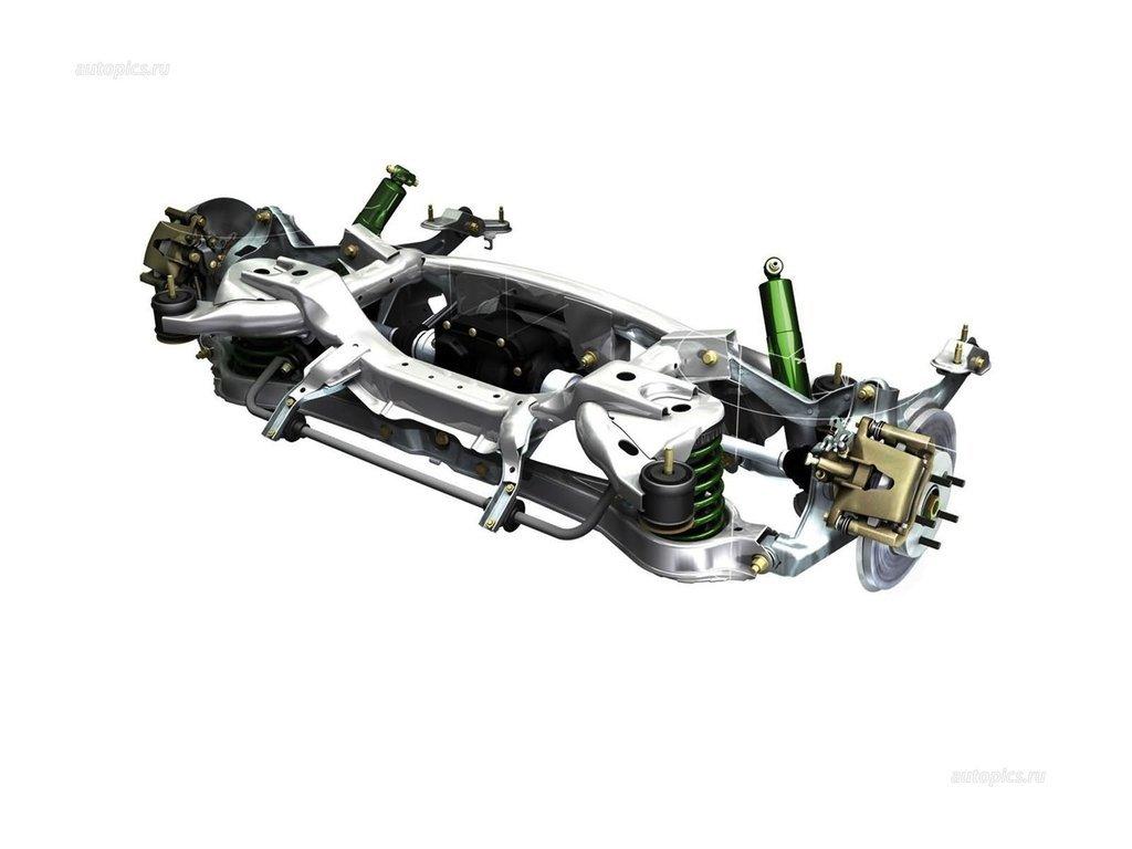 Jaguar X Type Subframe