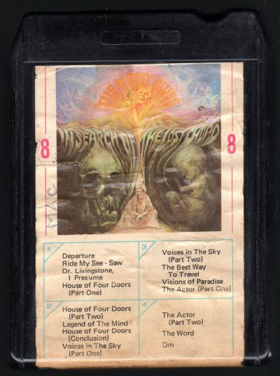 The Moody Blues - In Search Of The Lost Chord 1968 AMPEX ...