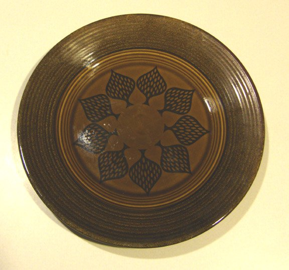 Vintage Sears Harmony House Old Gold Dinner Plate