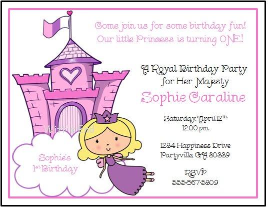 royal princess custom birthday party
