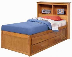 twin bookcase captain s bed project plans design 1cpt2 price