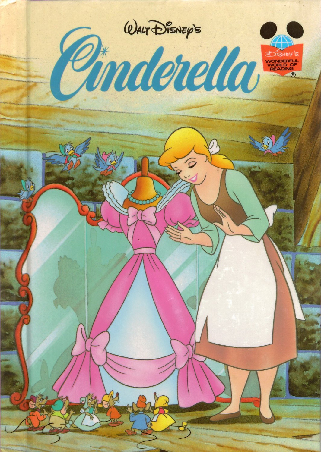 Walt Disney S Cinderella Disney S Wonderful World Of Reading