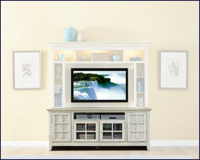 Liberty Furniture New Generation 75 Inch White Wood TV