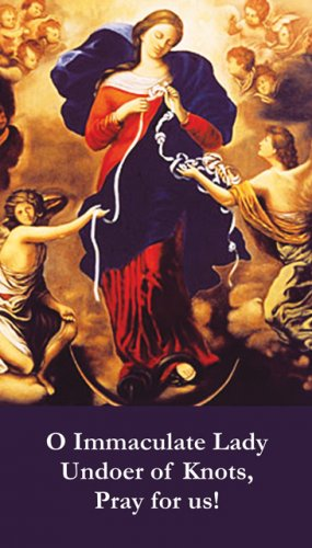 Mary, Undoer of Knots, pray for us!