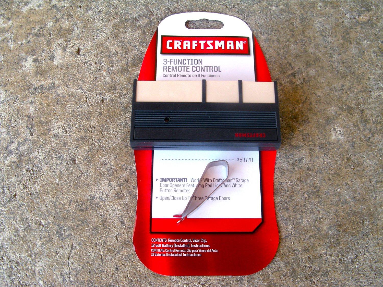Craftsman Sears Remote 13953778 Garage Door Opener Control 53778 63LM 750CB 753CB Liftmaster