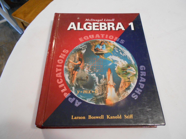 Algebra 1 Applications Equations Amp Graphs Ron Larson