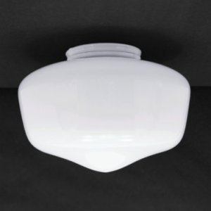 School House Globe 7  White Glass Shade for Ceiling Fan Light Kits     School House Globe 7  White Glass Shade for Ceiling Fan Light Kits with  3 25  Fitter  236 G10