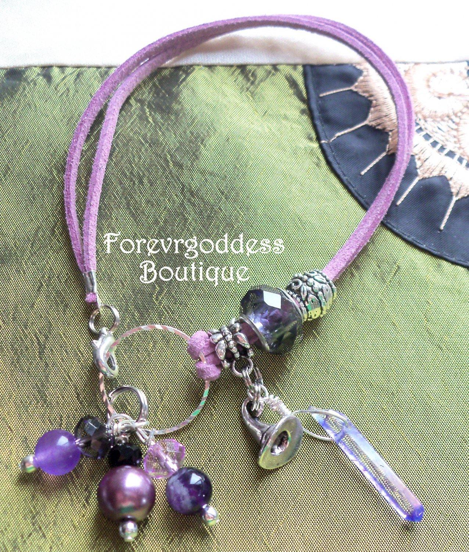 Witch S Hat Purple Aura Point Bracelet