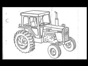 MASSEY FERGUSON MF 1155 TRACTOR PARTS MANUAL  Part Number